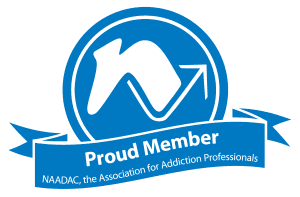 NAADAC Association for Addiction Professionals Member logo