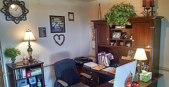 PTSD Symptoms Montgomery, AL - office recption area at Healing Hearts Counseling